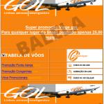 Promocao viaje GOL pagando apenas R$ 25,00 reais