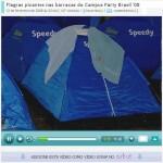 Rafael indicou um videolog para vc. (Balela.info no Campus Party Brasil)