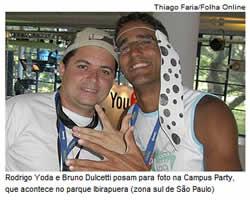 Folha Online : print screen de matéria
