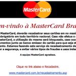 Recadastramento MasterCard