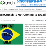 Vergonha alheia do TechCrunch