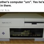 Um funeral digno para um nerd
