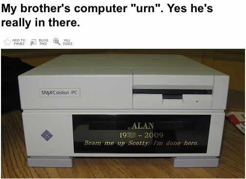 Funeral de um nerd