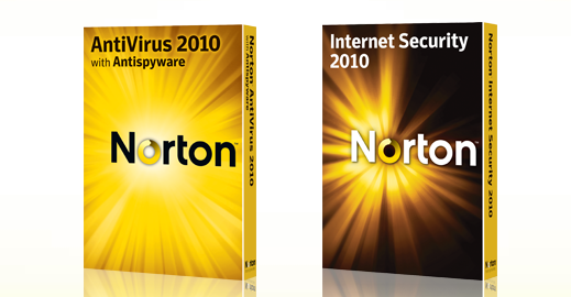 Norton Antivirus e Internet Security 2010
