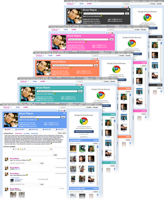 Novo Orkut : Cores