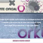 Convite Oficial – Novo orkut