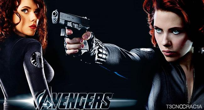 The Avengers Viuva Negra
