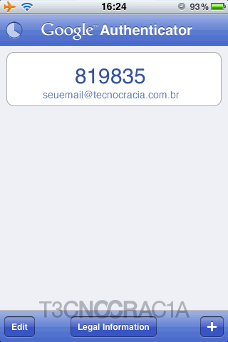 Como usar o Google Authenticator