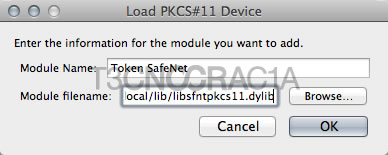 Firefox > Options > Advanced > Device Manager > Load