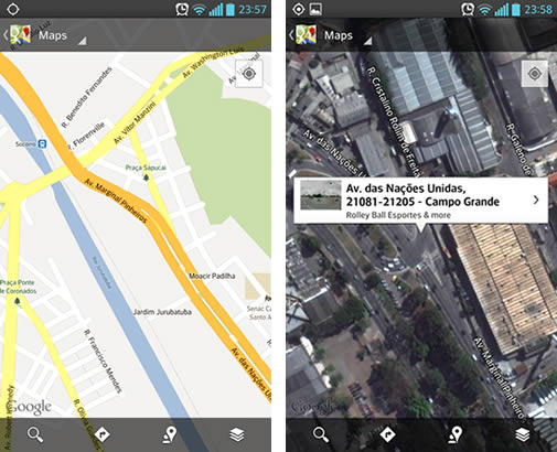 Novo Google Maps Mobile