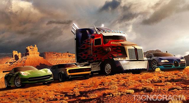 Carros Transformers 4