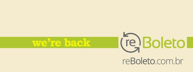 reBoleto is back
