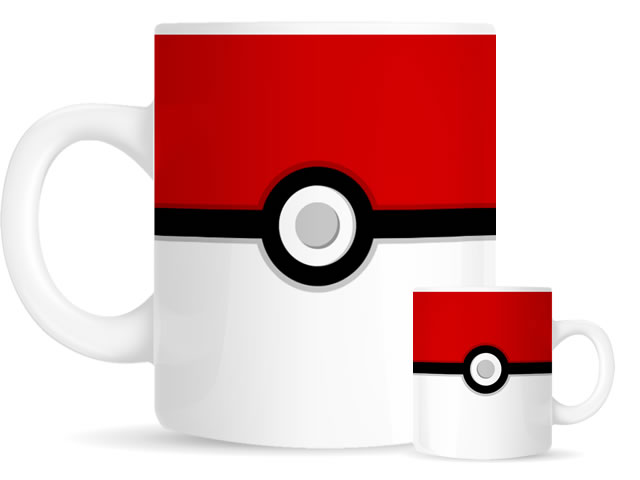 Pokeball - Pokemug