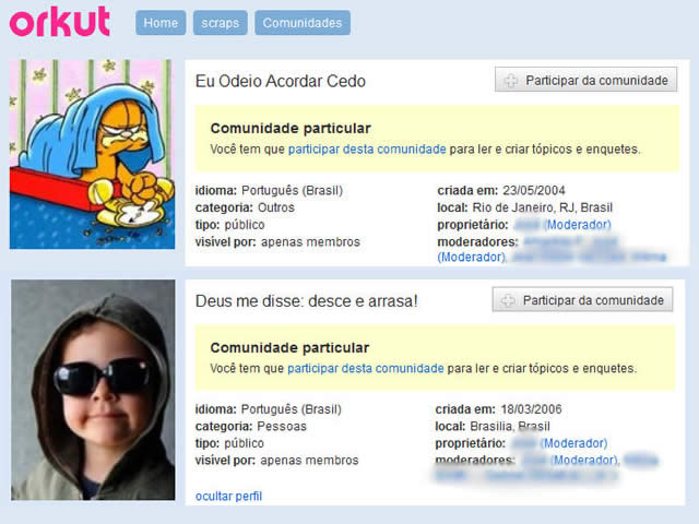 Comunidades Orkut